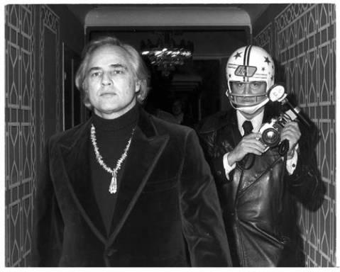 Marlon Brando, by Ron Galella